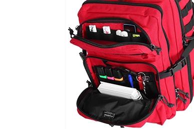 Органайзеры в рюкзаке Kahu City (RC красно-черный) Kiwidition