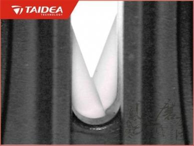 Карманная точилка для ножей Pocket Knife Sharpener Taidea. Мелкая сторона.