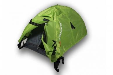 Макет палатки Alfa D 2+1 (зеленая) Trimm