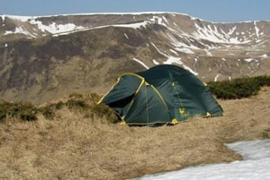 Палатка туристическая Lair 4 Tramp