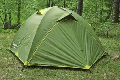 Палатка туристическая МИФ-3Д-плюс, пик-99