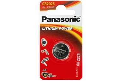 Батарейка Lithium Power CR2025 Panasonic