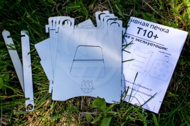 Печка-щепочница Т10+ Биохит, детали