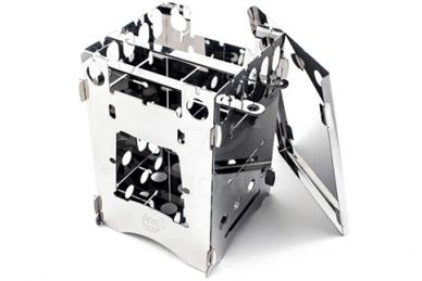 Печка-щепочница T11 (с чехлом и поддоном) Биохит