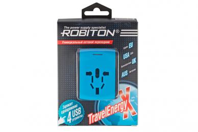 Переходник сетевой TravelEnergy-X Robiton