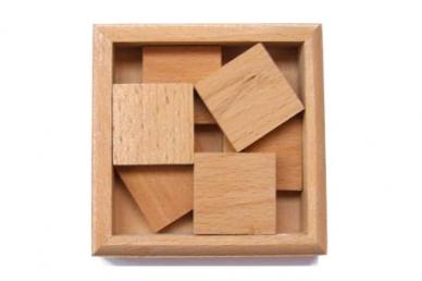 Деревянная головоломка Пифагоровы штаны № 1