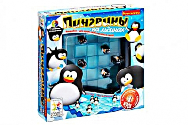 """""""Пингвины на льдинах"""" игра"""