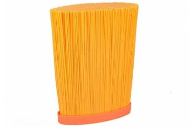 Подставка для ножей овальная оранжевая, TimA наполнитель лапша
