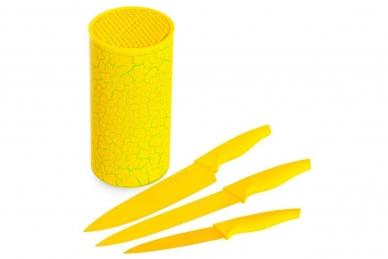 Подставка для ножей (желтая) 24947 Mayer&Boch