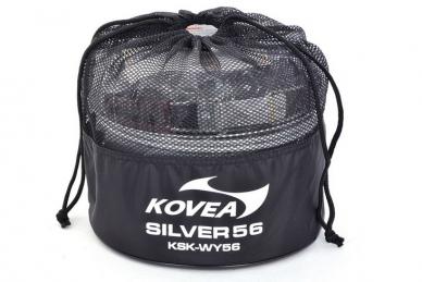 Набор посуды Silver 56 Kovea, чехол