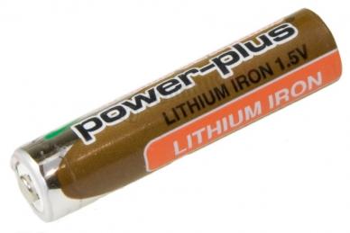 Элемент питания Li-ion AAA (1,5 В; 1400 мАч) Power-Plus