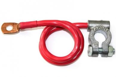Минусовой провод (клемма - медный наконечник) 16/600 мм Гарант-Сиб
