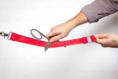 Ремень кожаный для правки 880Х40 мм, правка ножниц