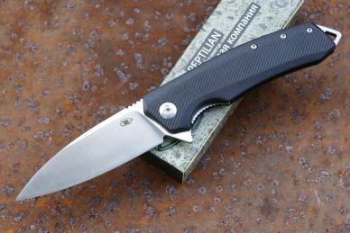 Нож складной «Шершень-3» (black) Reptilian, КНР