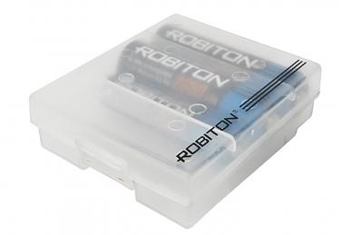 Коробка Robibox AA и AAA, Robiton