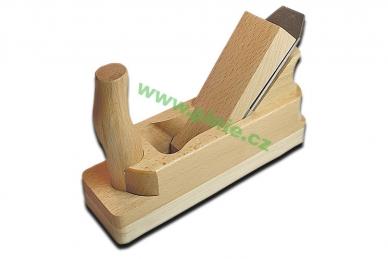 Рубанок двойной деревянный 48 мм Pinie