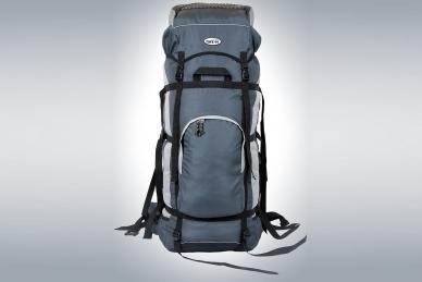 Рюкзак легкий туристический ПАРУС-80 (серый) ПИК-99