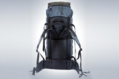 Рюкзак легкий туристический ПАРУС-80 серый ПИК-99