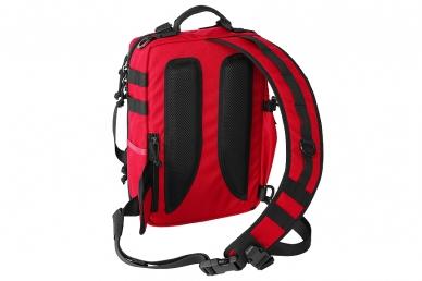 Однолямочный рюкзак Tawaho City 10 (RC красно-черный) Kiwidition