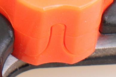 Прививочный секатор - упор для ножа