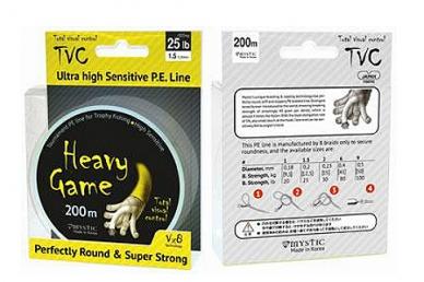 Рыболовный шнур PE Heavy Game (0,40 мм)