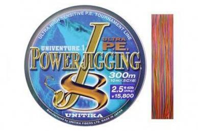 Шнур Power Jigging J8 0,388, Unitika