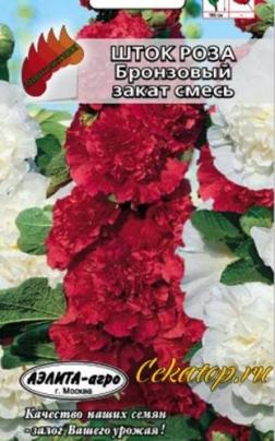"""Семена шток-Розы """"Бронзовый Закат"""""""