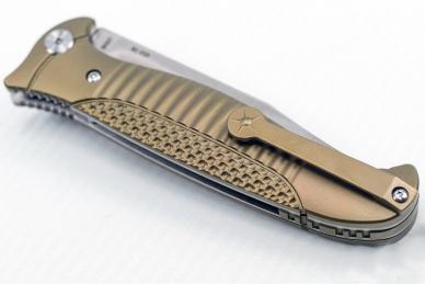Прочный нож складной «Финка-2 Premium» Reptilian