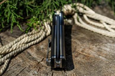 Складной нож Hussar P121 (чёрный) Ruike