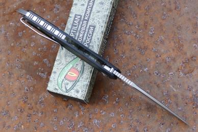 Нож «Шершень-2» (black) Reptilian