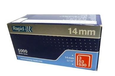 Скобы для степлера 14 мм, тип 53 (5000 шт.) Rapid
