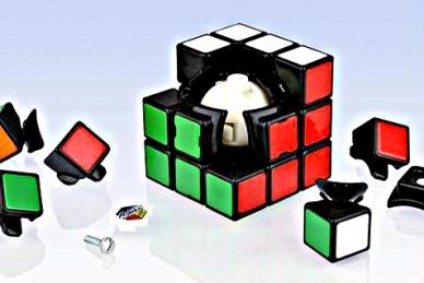 Скоростной кубик Рубика без наклеек 3x3