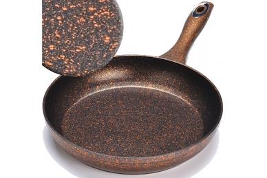 Сковорода литая 220 мм (медная) Mayer & Boch