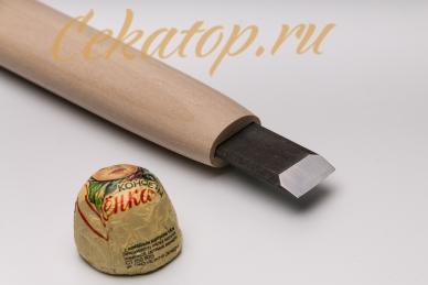 Стамеска прямая 15 мм Yoshiharu, клинок