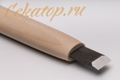 Стамеска прямая 15 мм Yoshiharu, Япония, клинок