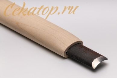 Стамеска полукруглая (отлогая) 18 мм Yoshiharu, клинок