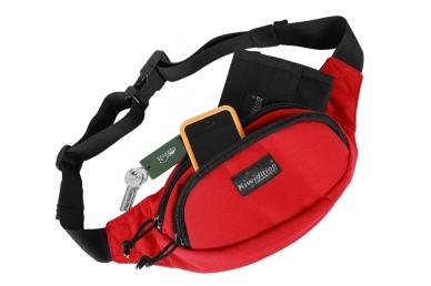 Поясная сумка Pokorua City (RC красно-черный) Kiwidition