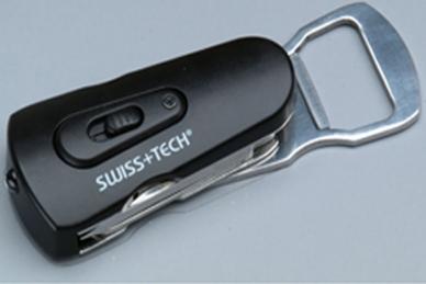 Микро набор инструментов Swivel Tool 8 в 1 Swiss+Tech - открывалка