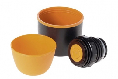 Термос Esbit VF 0,75 л (черный/оранжевый)