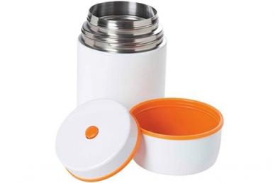 Термос для еды Esbit FJ 0,75 л (белый/оранжевый)