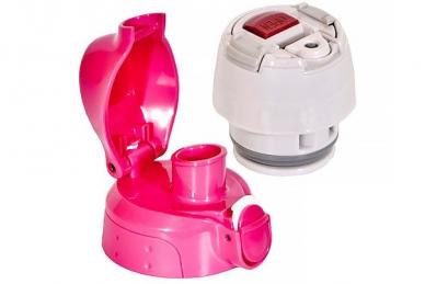 Термос с крышками MMN-W100 Pink 1,0 л Tiger