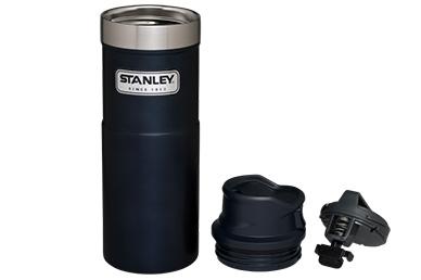 Термостакан Stanley Classic 2.0 One Hand 0.47 л (синий)