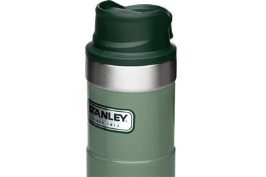 Термос Classic 2.0 One Hand 0.47 л (зеленый) Stanley