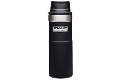 Термостакан Classic 2.0 One Hand 0.47 л (черный) Stanley