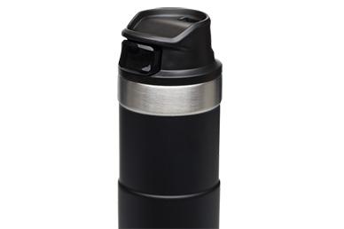 Термостакан Stanley Classic 2.0 One Hand 0.47 л (черный)