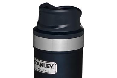 Термос Stanley Classic 2.0 One Hand 0.47 л (синий)