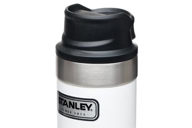 Термос Stanley Classic 2.0 One Hand 0.47 л (белый)