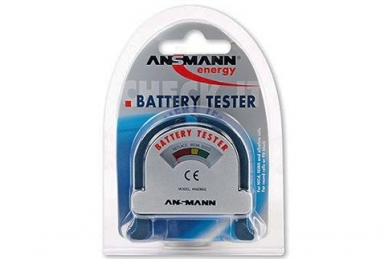Тестер для элементов питания Battery tester 4000001, Ansmann