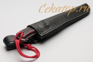 Нож TKK (Elmax, черно-оранжевый) Южный Крест, ножны