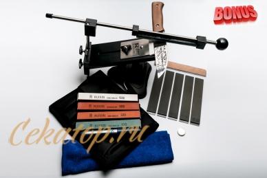 Точилка Pro Ultra Ruixin (копия Apex), набор брусков, неодимовый магнит